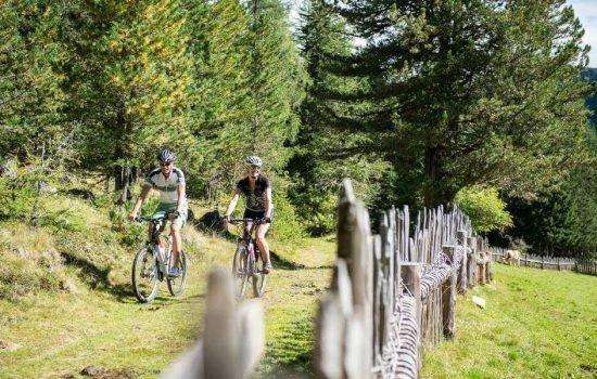 Ciclismo e mountain bike nella Valle di Casies